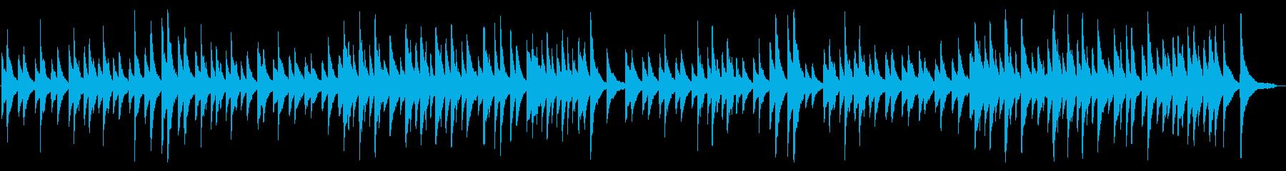 ジムノペディ ピアノ ゆったりの再生済みの波形