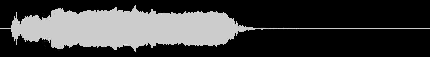 尺八ソロによるジングル_03の未再生の波形