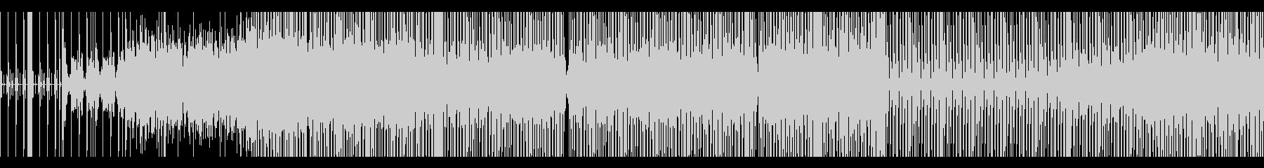 かっこいいテクノEDM(ループ可)の未再生の波形