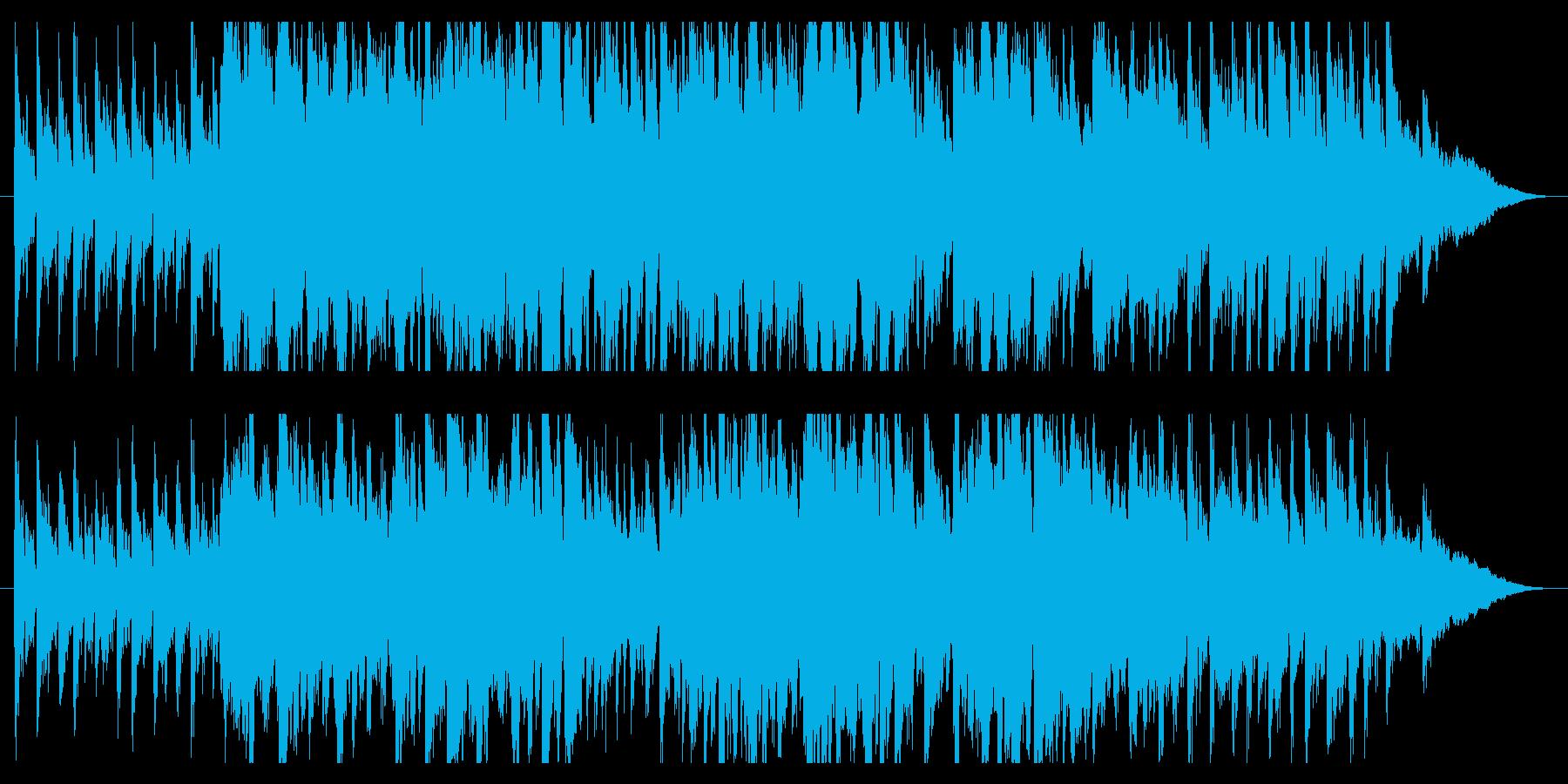 広告用BGM トロピカルハウス 1分以内の再生済みの波形