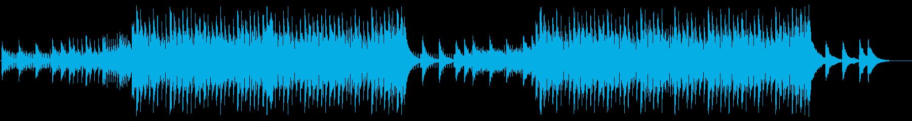 軽快でクールなEDM4の再生済みの波形