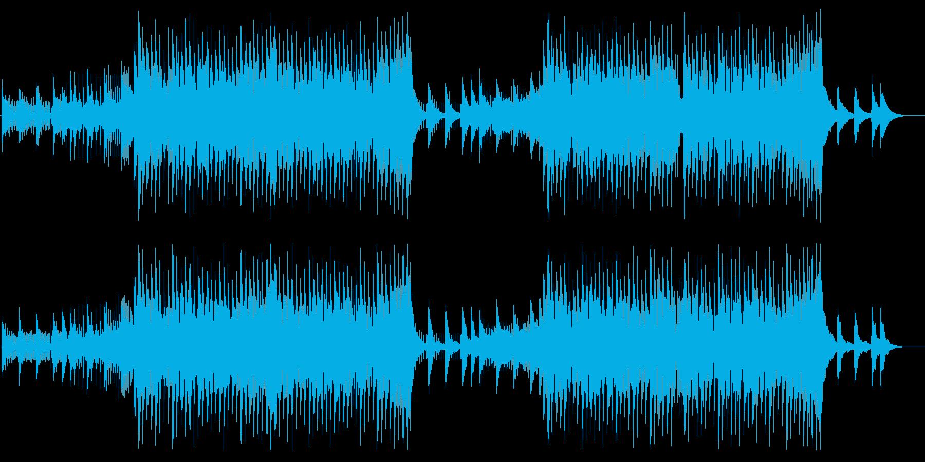 スピード感のあるEDM トランスの再生済みの波形