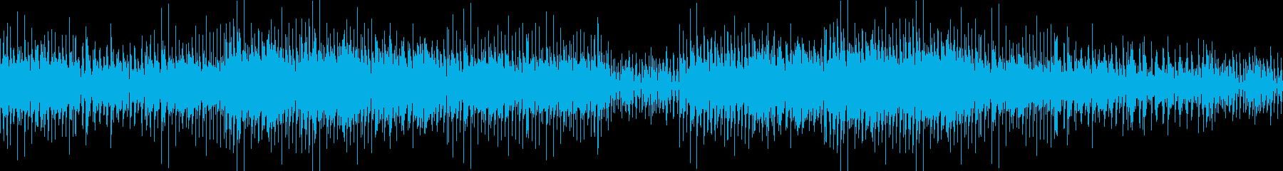 ちょっぴり切なく楽しいDTMの再生済みの波形