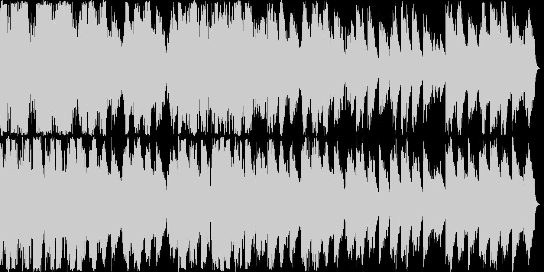 穏やかなバイオリンクラシックの未再生の波形