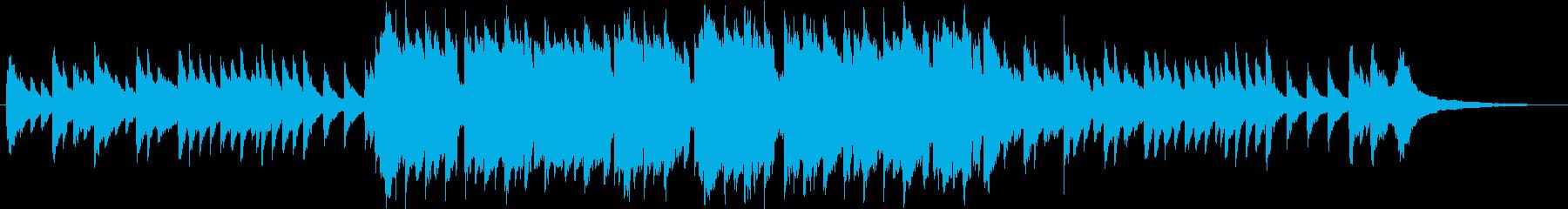 ピアノとオーボエの曲です。の再生済みの波形