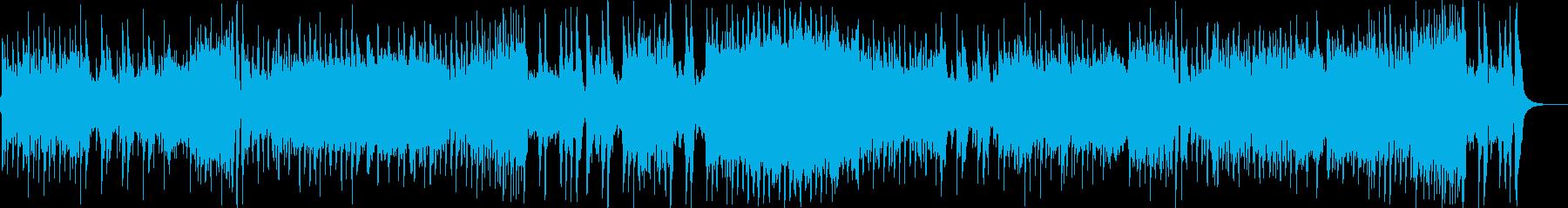 モーツァルトのピアノソナタをギターでの再生済みの波形