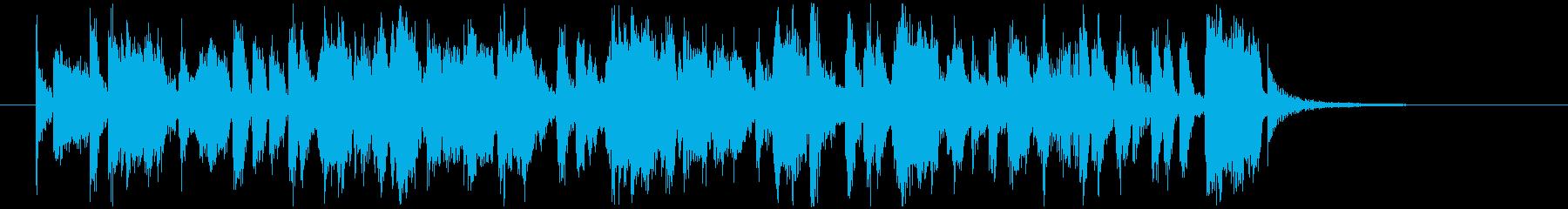 ショパンノクターン第2番のビッグバンド風の再生済みの波形