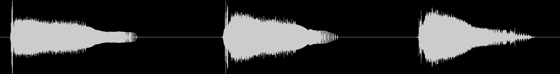 フィクション 電力装置 グリッチ01の未再生の波形