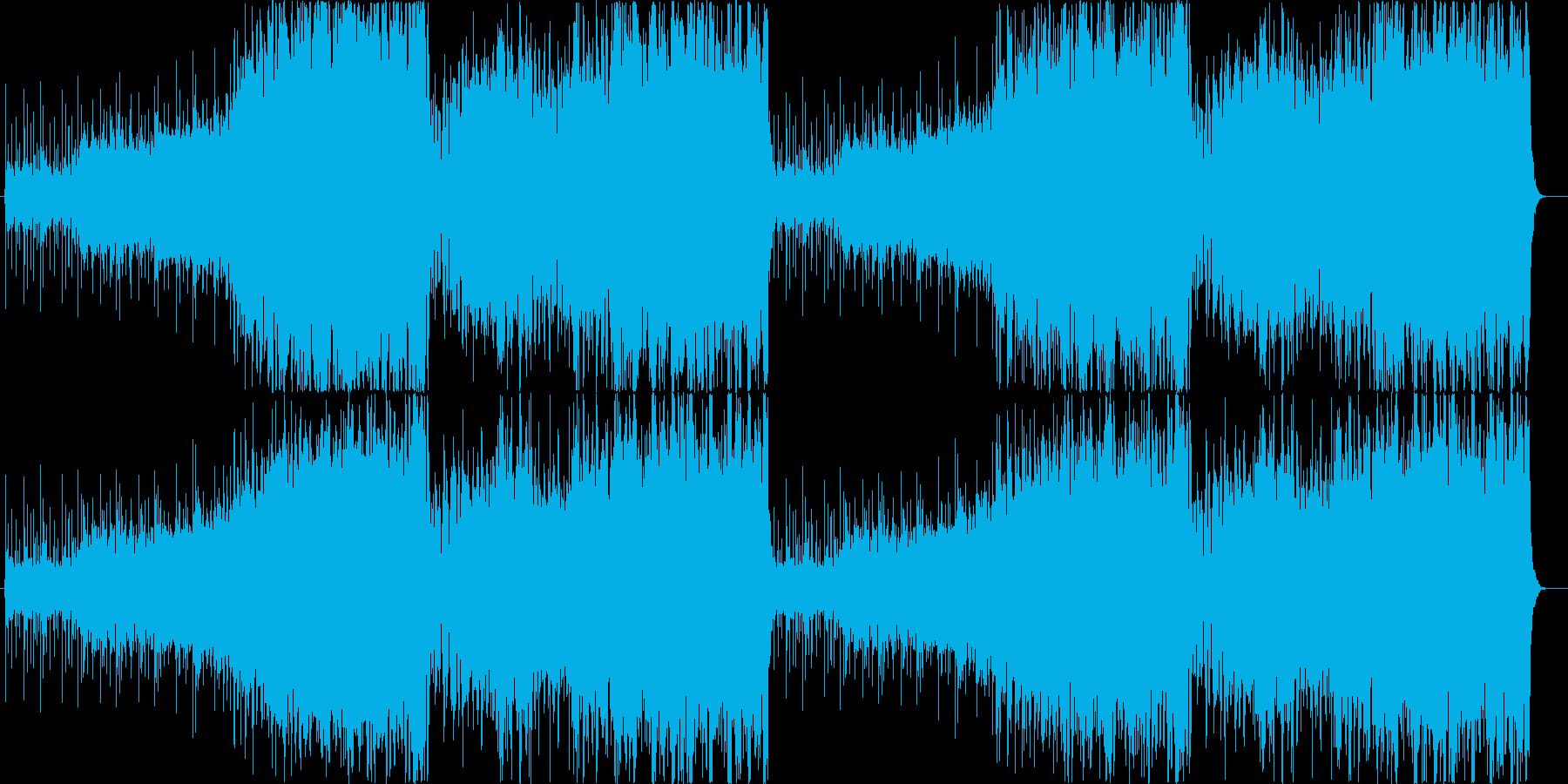 ファンタジックで軽やかなアイリッシュの再生済みの波形
