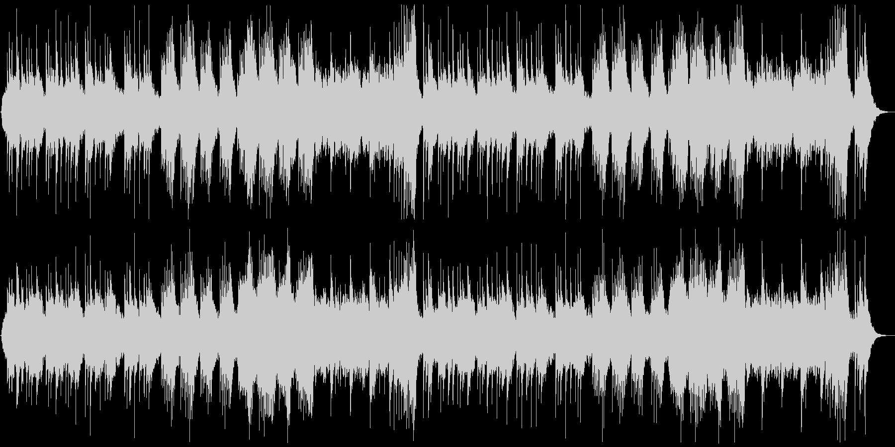 和風の落ち着いたヒーリング/鉄琴抜きの未再生の波形