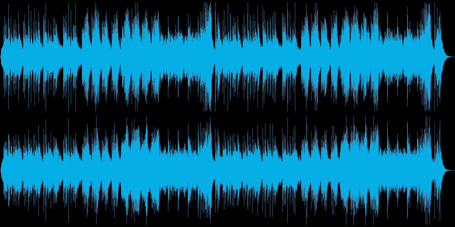 和風の落ち着いたヒーリング/鉄琴抜きの再生済みの波形