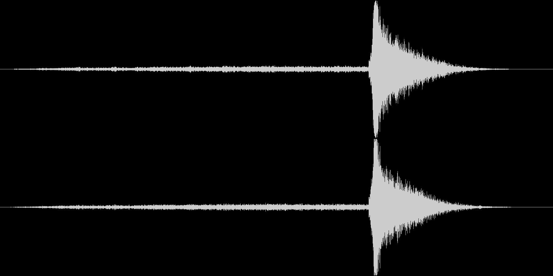 ホラー系衝撃音2 +最初に高音煽り20秒の未再生の波形
