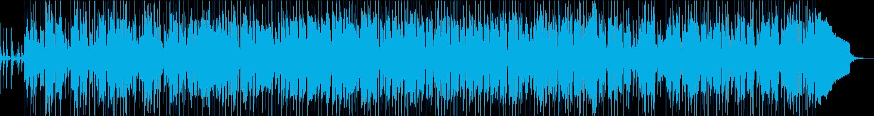 南国チックで、ほのぼのしたポップスの再生済みの波形