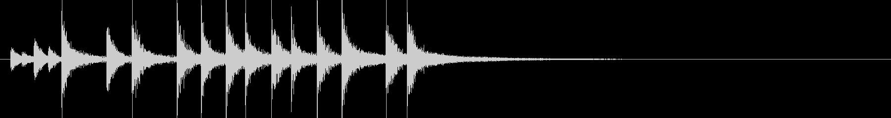 ドラム/ティンバレス フィルイン 4の未再生の波形