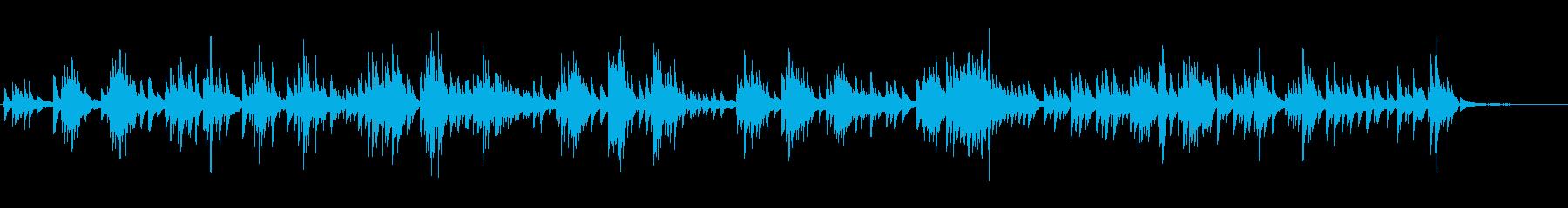 生ピアノソロ・寄せては返す波の再生済みの波形