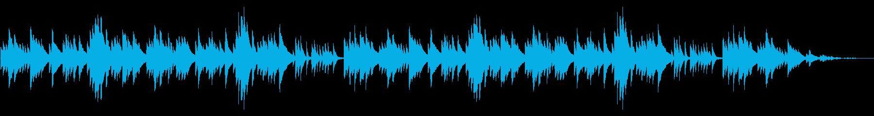 山田耕筰「この道」シンプルなピアノソロの再生済みの波形