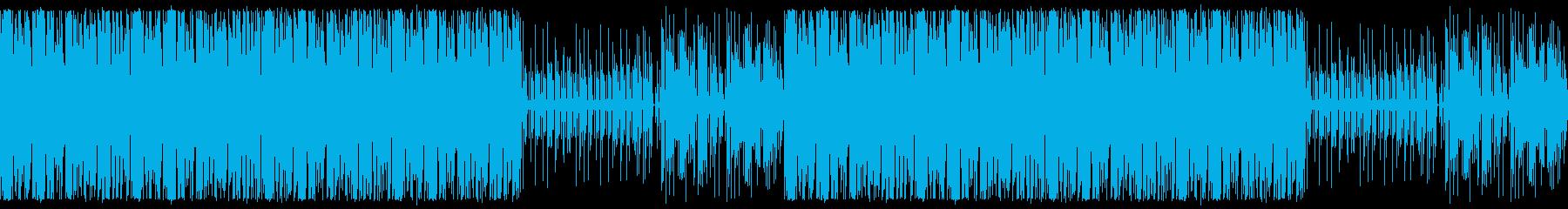 かわいいホリデーBGMの再生済みの波形