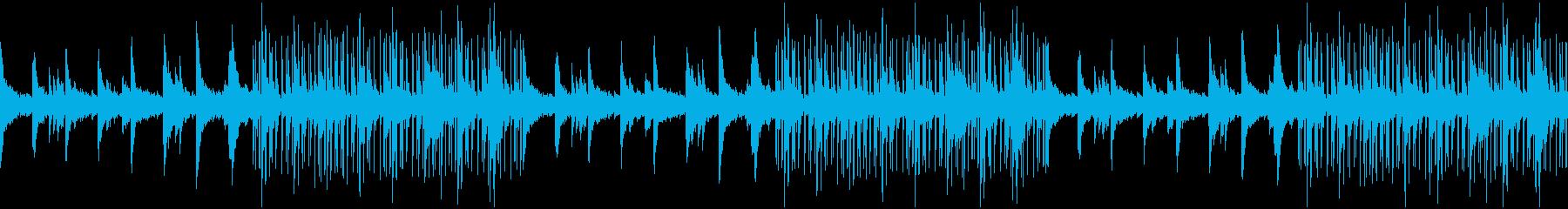 秋、紅葉、Lofi HipHopの再生済みの波形