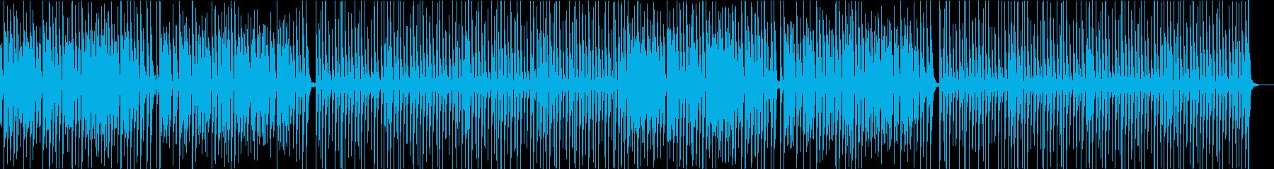 ギャグ・おとぼけ・コミカルなポップの再生済みの波形
