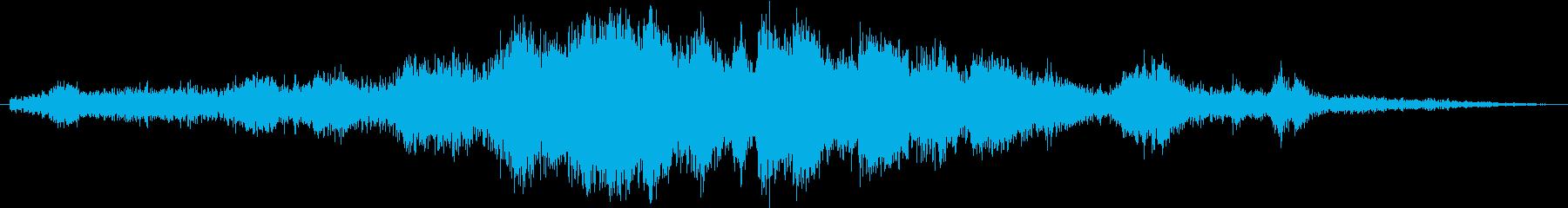 【SF】宇宙のノイズの再生済みの波形