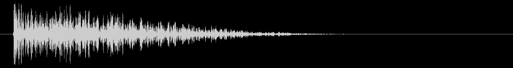8ビット風爆発音-01-3_revの未再生の波形