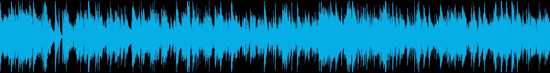 ジャズバラード、悟り、荘厳 ※ループ版の再生済みの波形