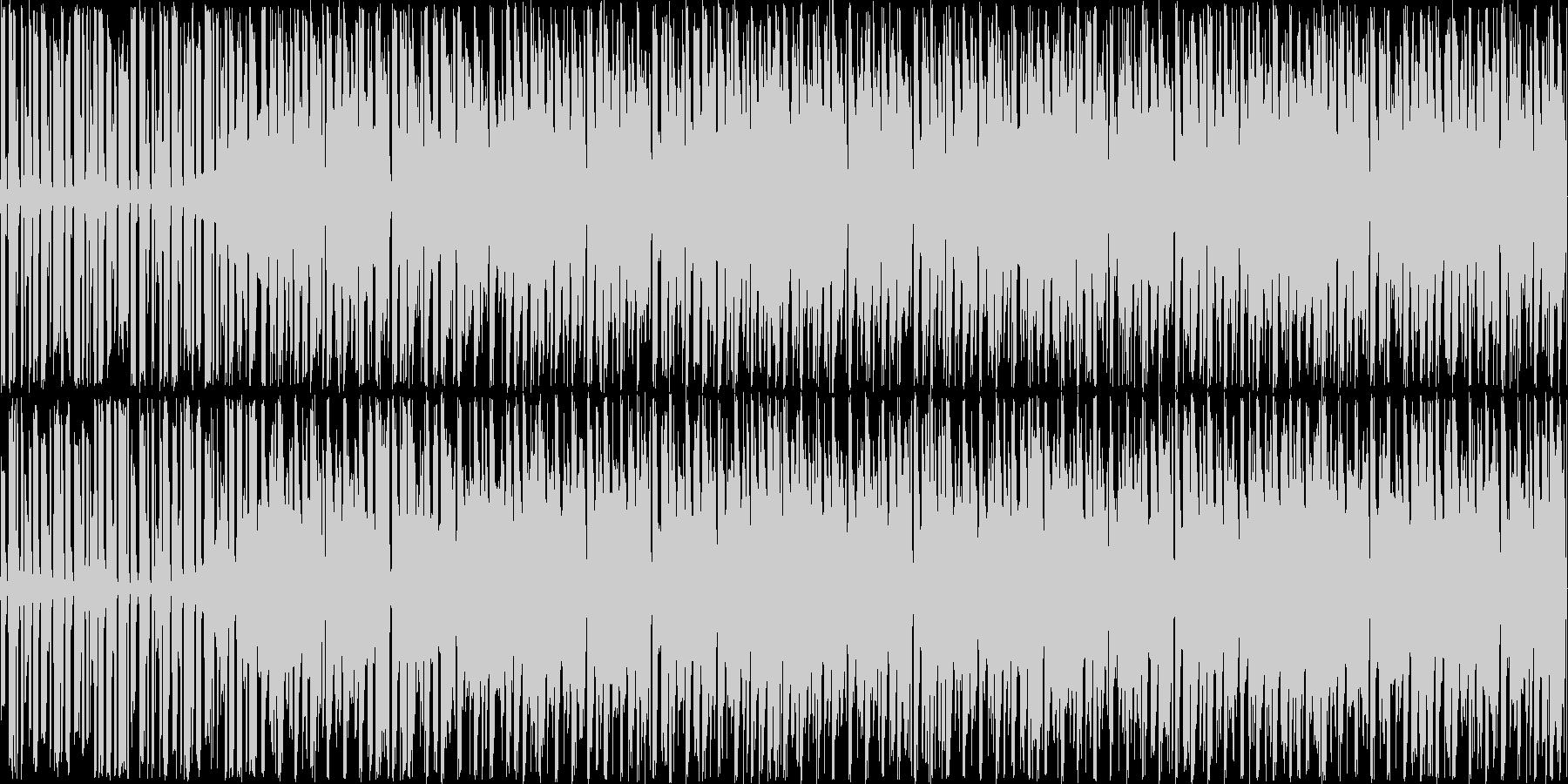 エレクトロダンスloopの未再生の波形