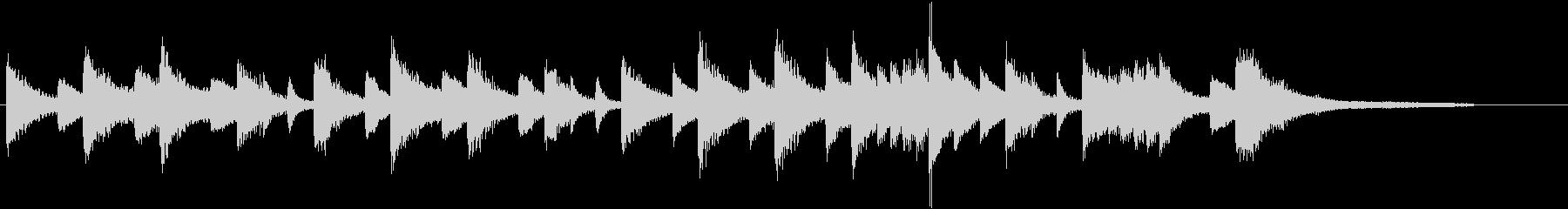 「花のワルツ」クラシックピアノジングルDの未再生の波形