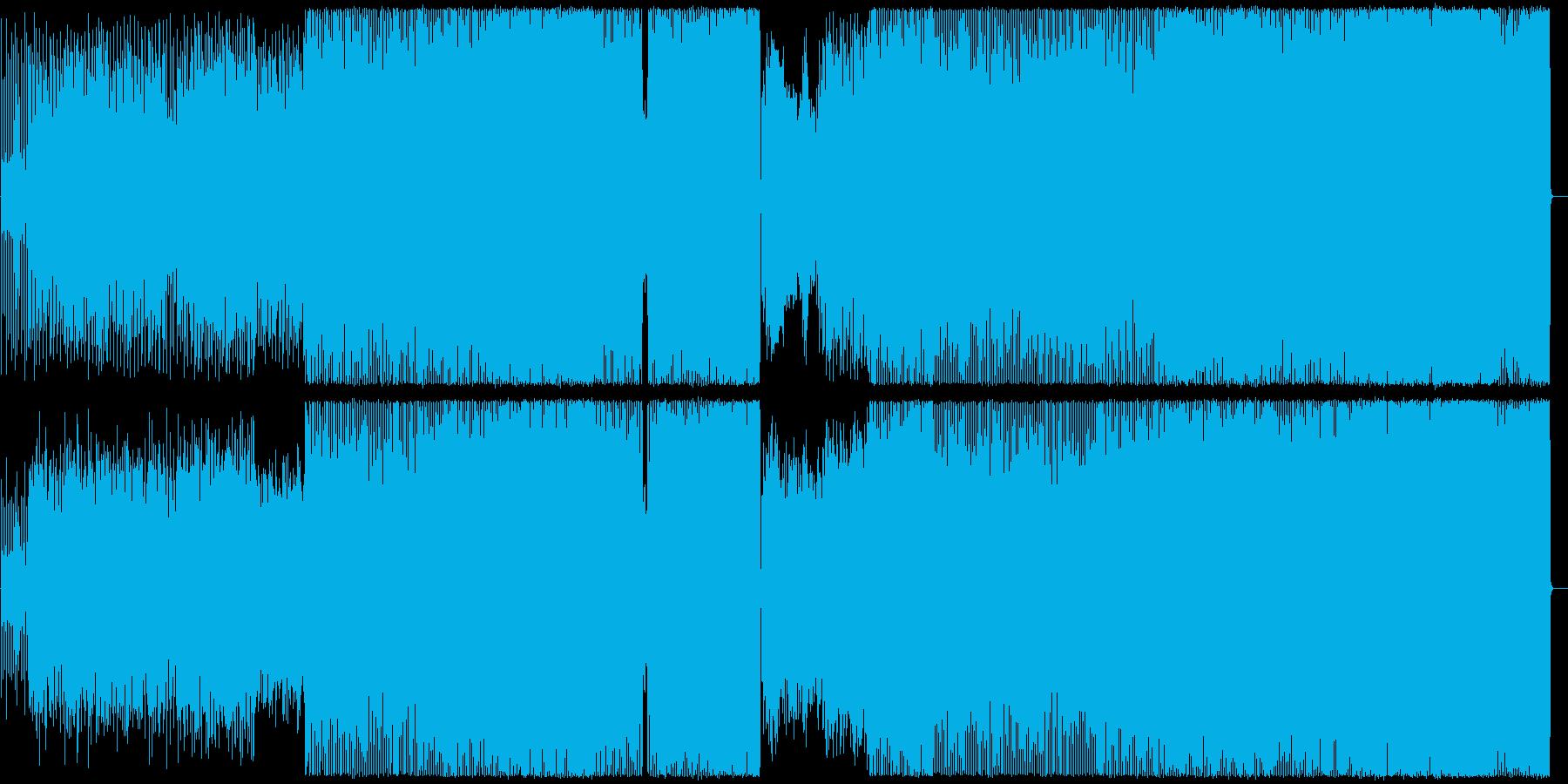 Af-romanの再生済みの波形