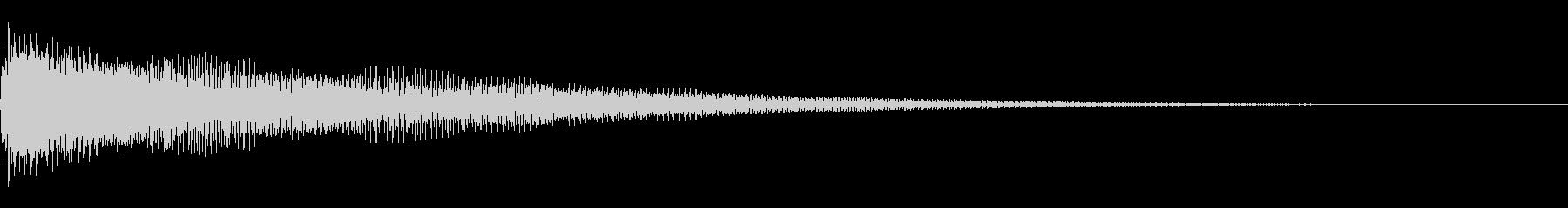 [生録音]グランドハープ-06-A1の未再生の波形