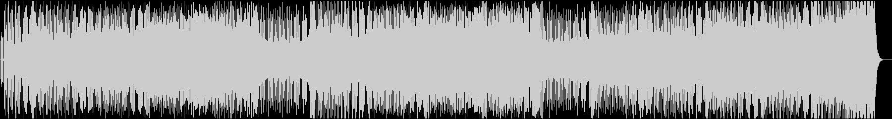 レトロフレイバー&ドープなディープハウスの未再生の波形