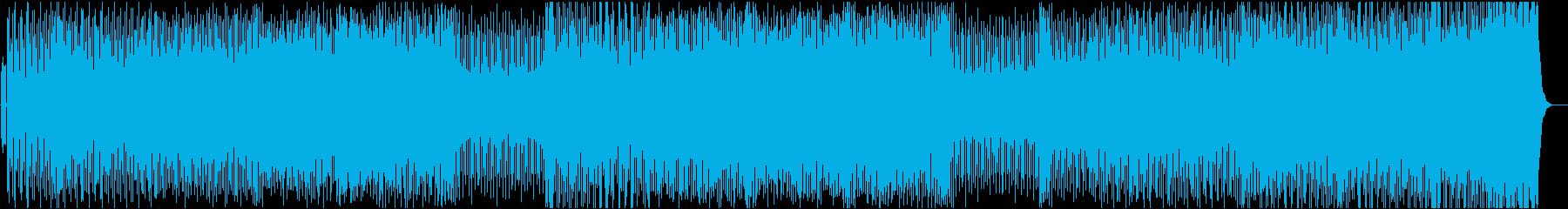 レトロフレイバー&ドープなディープハウスの再生済みの波形