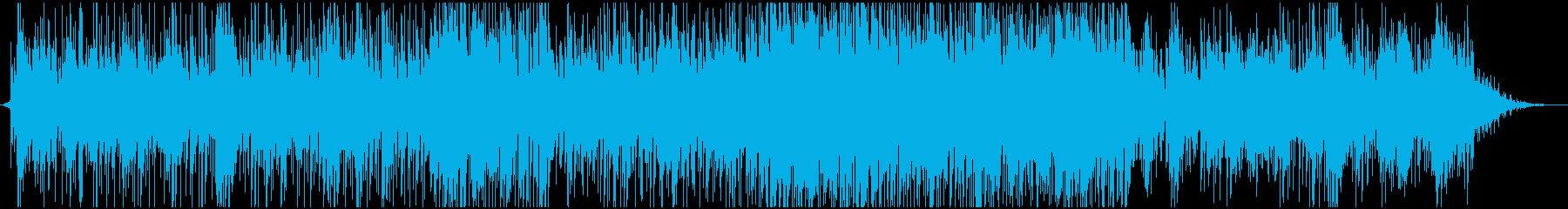 ピアノ系ラテンジャズフュージョンバンドの再生済みの波形
