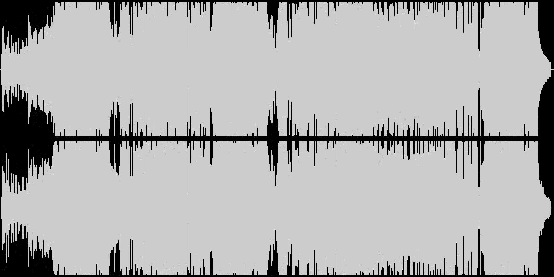 【生サックス】エモい四つ打ちポップの未再生の波形
