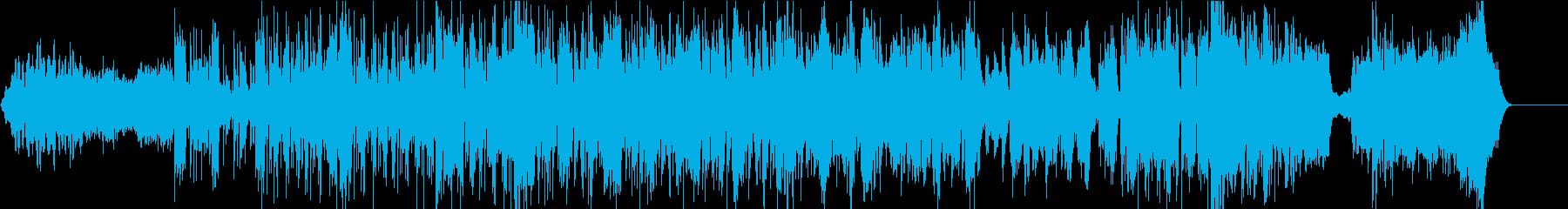 トランペット中心のビートの効いた疾走感の再生済みの波形