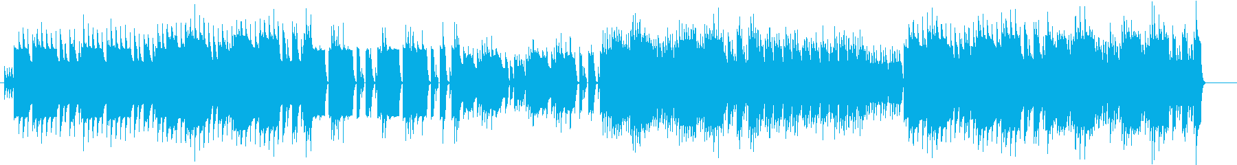 疾走感あるファミコン風BGMの再生済みの波形
