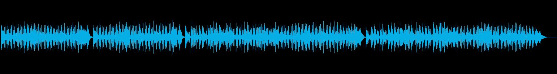 クラシックピアノ、チェルニーNo.10の再生済みの波形