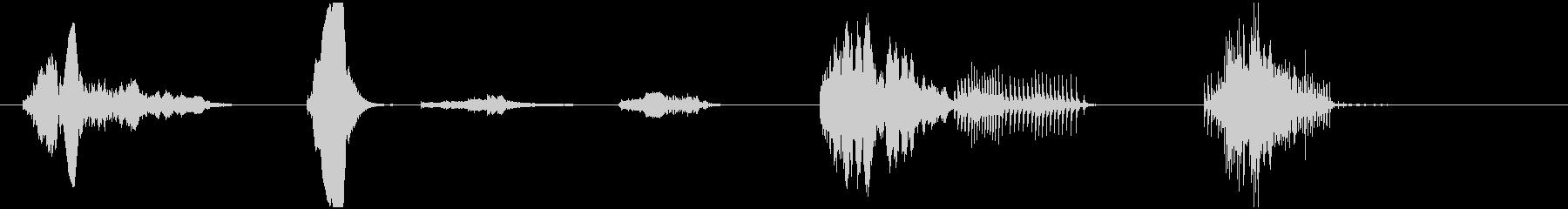 カウントB-ASSY、漫画、コメデ...の未再生の波形