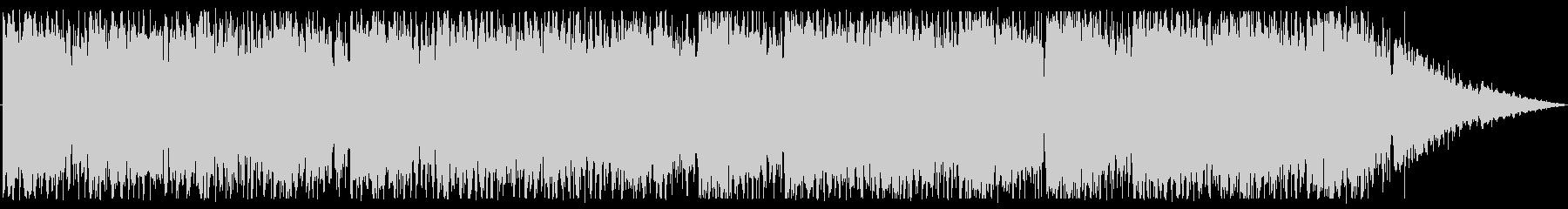 切ない雰囲気で透明感のあるBGMの未再生の波形