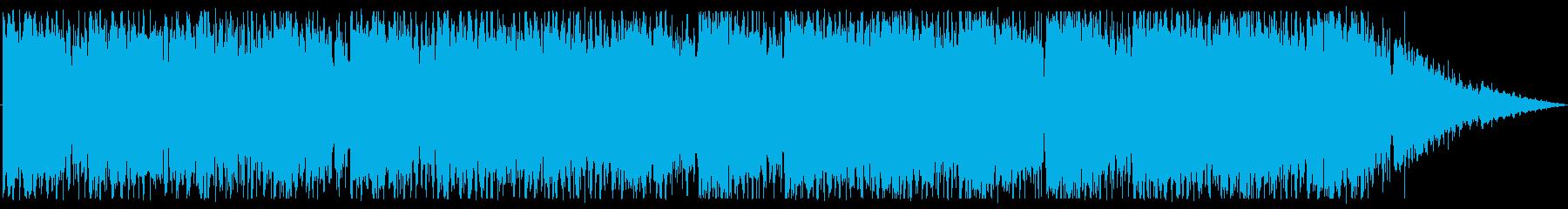切ない雰囲気で透明感のあるBGMの再生済みの波形
