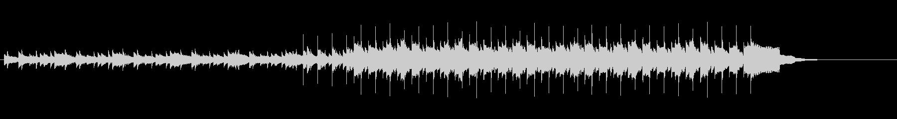 イントロ/エンディング ピアノエレピリフの未再生の波形