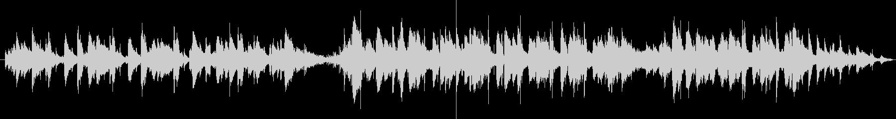 軽快で粋なジャズサウンドの未再生の波形