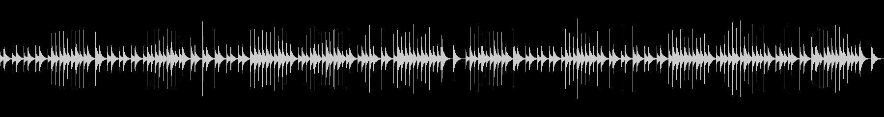 (オルゴール)ジムノペディ1番BPM72の未再生の波形