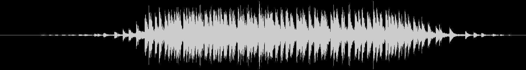 セロハンテープ等 伸ばす(ビィィッ)の未再生の波形