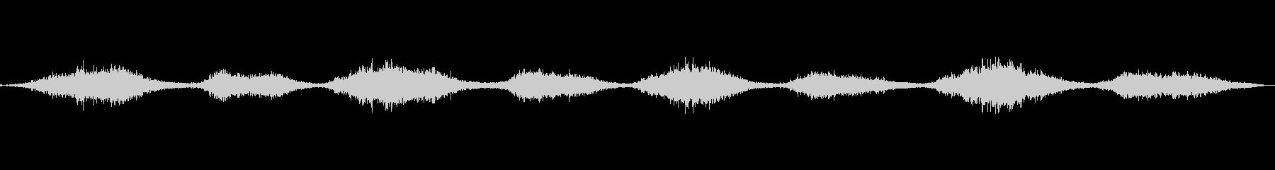 ゴシゴシ(ブラシでこする音)の未再生の波形