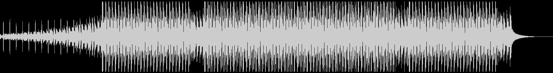 パーティータイム(中)の未再生の波形