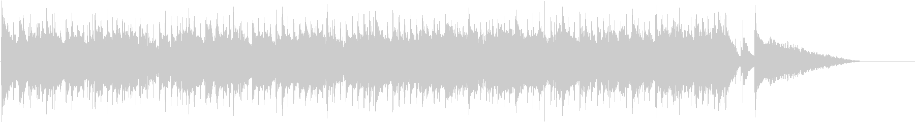 ほのぼのまったりなポップなBGMの未再生の波形