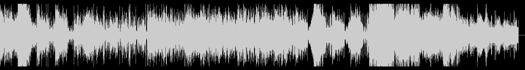 メタリックでダークなIDMの未再生の波形