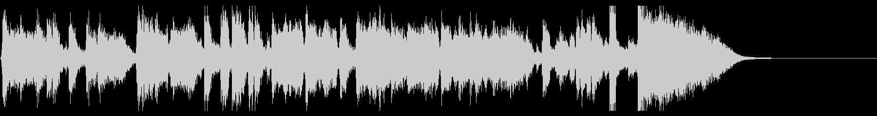 ジングル20秒・生演奏ジャズビッグバンドの未再生の波形