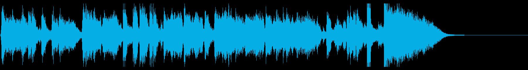 ジングル20秒・生演奏ジャズビッグバンドの再生済みの波形